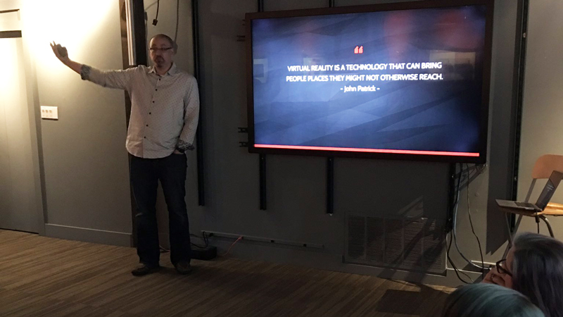 "VisionThree Hosts Experience Makers for ""VR Talk"" Speaker Series Event"