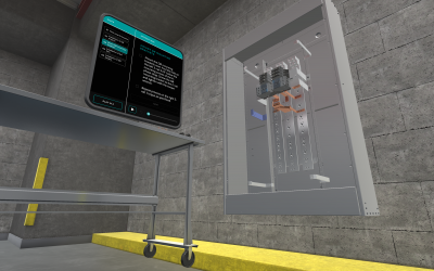 Siemens Setting the Bar: Supporting Customers With Virtual Reality Training